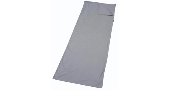 Easy Camp Travel Sheet Slaapzak Rectangle grijs